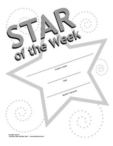 of the week certificate template 1000 images about classroom of the week on