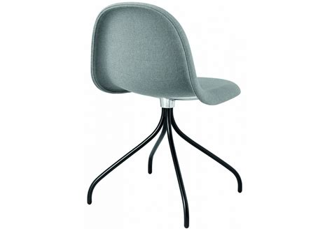 3d Dining Gubi Swivel Upholstered Chair Milia Shop Upholstered Swivel Dining Chairs