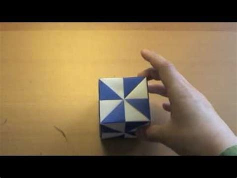 Origami Pinwheel Cube - origami pinwheel cube tutorial