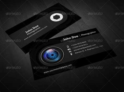 envato business card templates photographer business card template vol 3 by owpictures