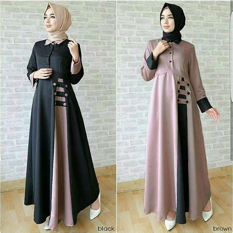 Baju Atasan Wanita Black Embriodery S Murah Original nf gamis syari afida dress baju murah gaun dress gamis syari murah wanita baju