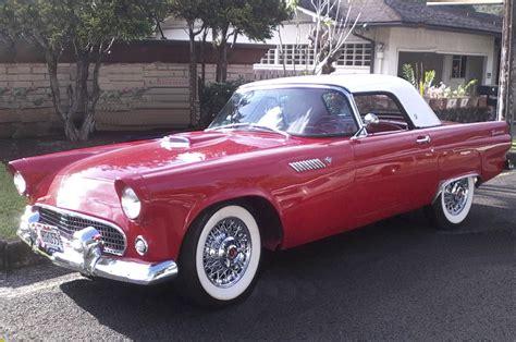 1955 ford thunderbird colors 1955 thunderbird johnywheels
