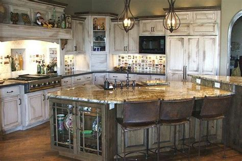 Rustic Cabinets Kitchen Rustic White Washed Kitchen This My Kitchen Pinterest Rustic White