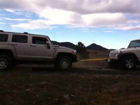 hummer h3 vs jeep jeep rubicon vs h3