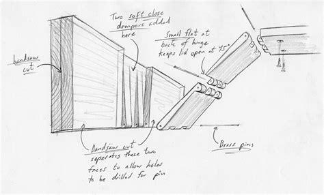 build  hidden tv enclosure finewoodworking
