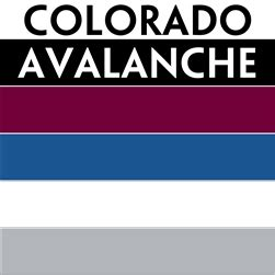 colorado avalanche colors nhl colors colorado avalanche personalized mini hockey stick