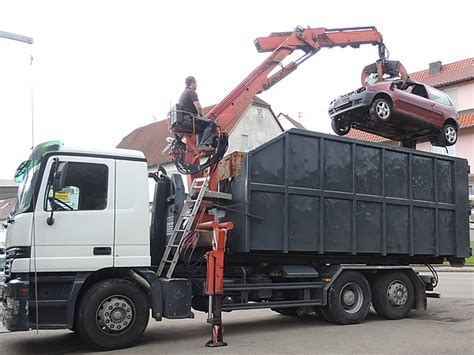 Auto Verschrotten Entsorgungsnachweis by Recycling Entsorgung Dreier 72379 Hechingen