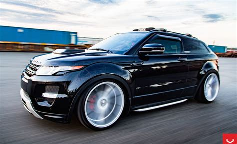 customized range rover evoque bagged range rover evoque looks superb