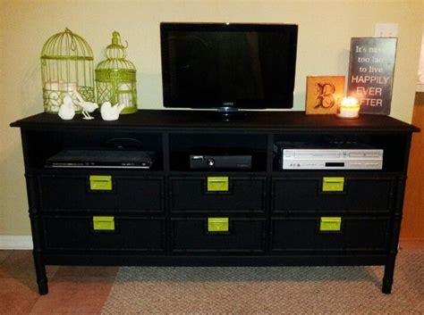 Tv Dresser by Diy Dresser Into A Tv Stand Diy Projects To Try