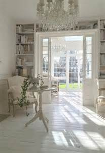 French Chic Home Decor Shabby Chic Living Room In White
