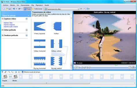 tutorial de windows movie maker 2 6 en español windows movie maker windows descargar