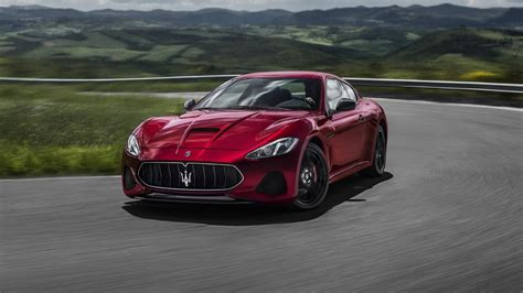 maserati car 2018 2018 maserati granturismo the purest form of excitement
