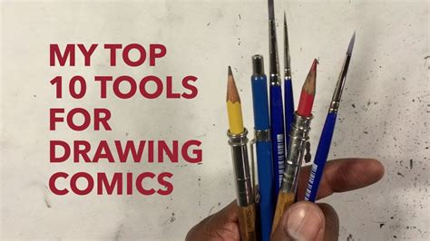 best tools for drawing gerimi drawing comics 073 my top 10 tools for drawing