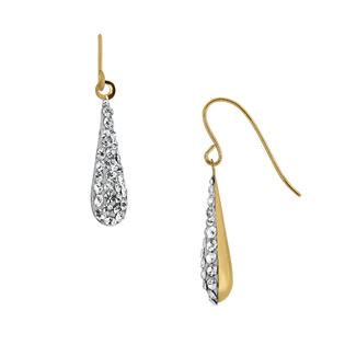10k gold wire for jewelry 10k yellow gold teardrop wire earrings