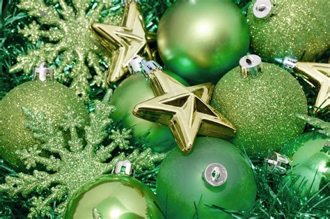 green christmas decoration background 6349 stockarch