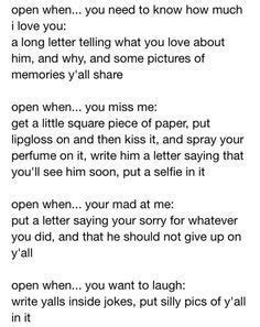 up open letter open when letter for boyfriend search the feels