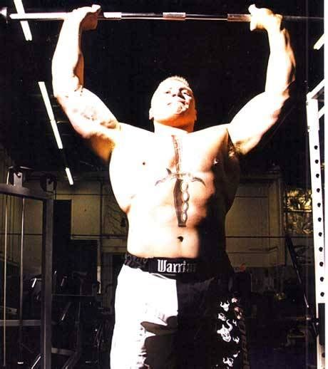brock lesnar max bench press brock lesnar workout routine welcome to reality