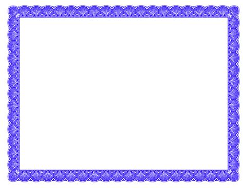 border for certificate template fancy borders photoshopforums blue fancy