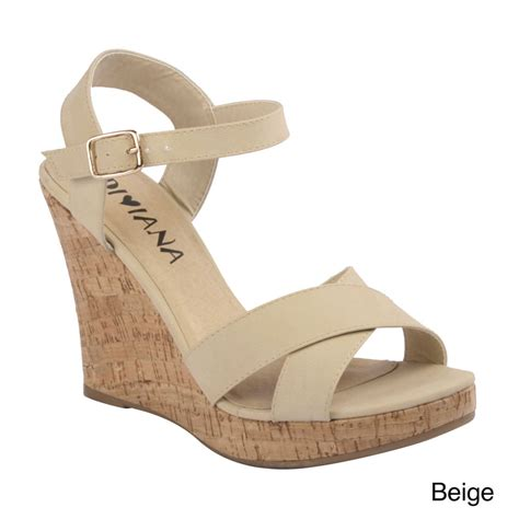 diviana kealie 01 s crisscross wedge sandals with