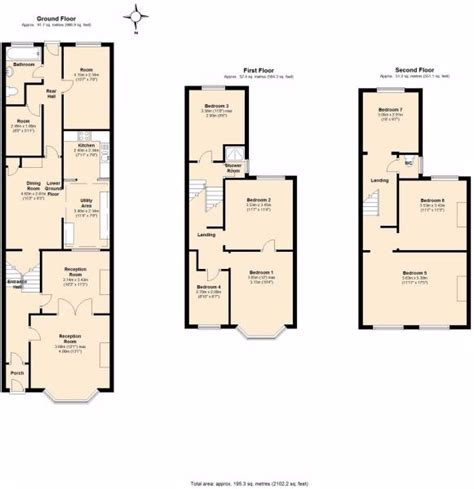 Design House Plans Free Uk Terraced House Floor Plans House Design Plans