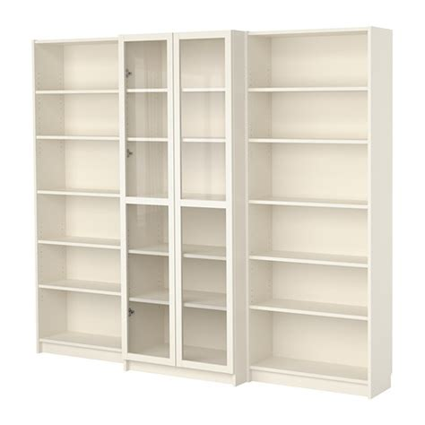 Ikea Affordable Swedish Home Furniture Ikea Ikea White Bookcase With Doors