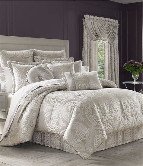 j queen new york leblanc damask comforter set dillards