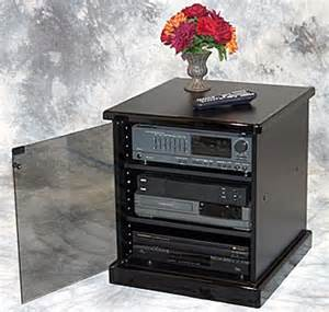 Small Audio Cabinet Small Stereo Cabinet Furniture Free Home Design Ideas Images