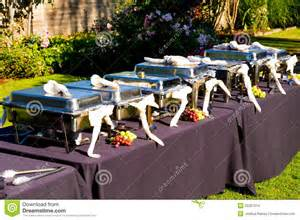 Banquet Table Layout Wedding Banquet Feast Setup Stock Images Image 35367014