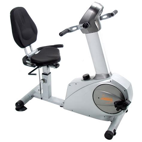 semi reclined position total body recumbent bike