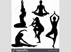 Yoga Illustration Exercise Clip Art Free To Copy