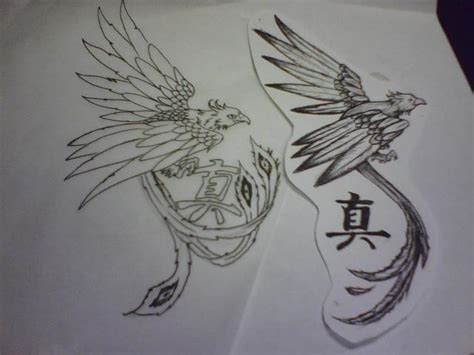 tattoo phoenix black and white phoenix tattoos and designs page 8