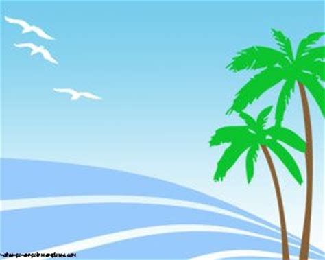 Summer Palms Powerpoint Templates Summer Powerpoint Templates