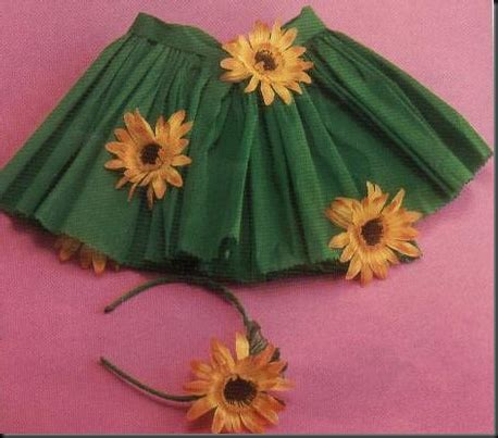 como realizar una falda de papel crepe disfraz de flor muy f 225 cil en papel crep 233