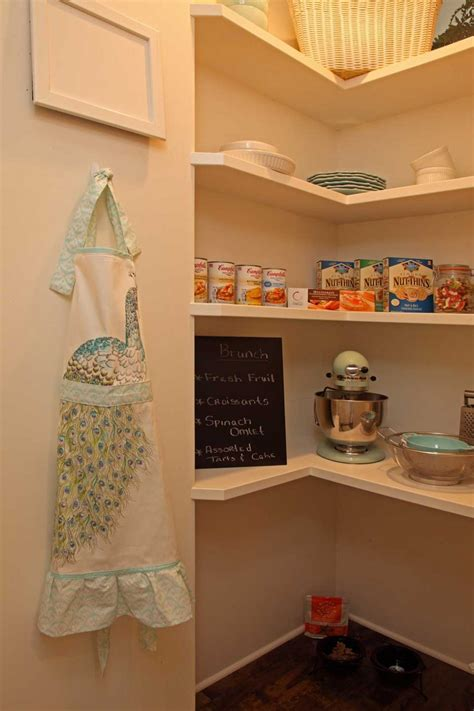 L Shaped Pantry by Spectacular Small Kitchen Corner Pantry With L Shaped