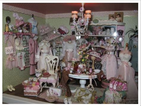 a mini shabby chic boutique miniature marvels pinterest