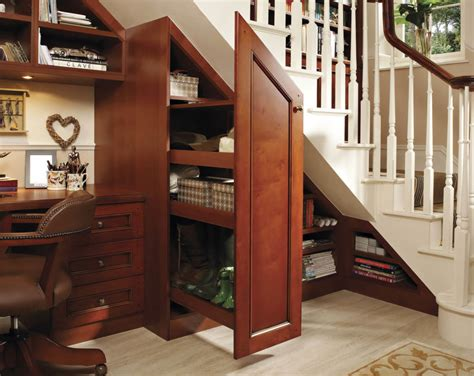 stair shoe storage bespoke understairs study neville johnson