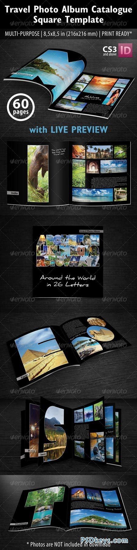 Travel Photo Album Catlog Square Template 5398410 187 Free Download Photoshop Vector Stock Image Travel Album Template