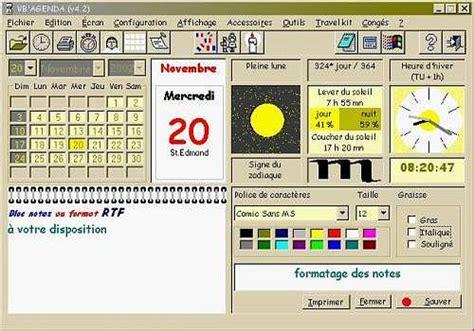 Calendrier Windows T 233 L 233 Charger Vb Agenda Pour Windows