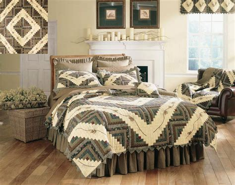 pinecone bedding barn raising pine cone by donna sharp quilts