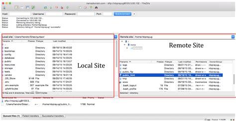 wordpress tutorial upload file upload file ke server menggunakan filezilla idcloudhost