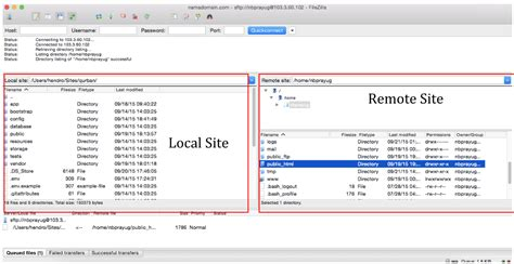 tutorial upload web ke hosting upload file ke server menggunakan filezilla idcloudhost