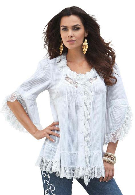 Sy0nzgb02 Big Size Blouse Dress Denim Size S M Size L plus size dressy tops 33