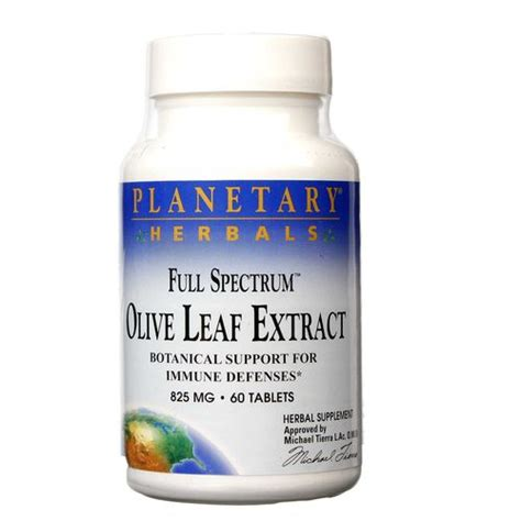 Olive Leaf Detox For Dogs by Planetary Herbals Spectrum Olive Leaf Extract 60