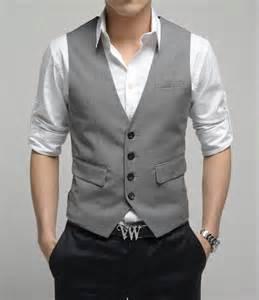 Grey vest vests and black pants on pinterest