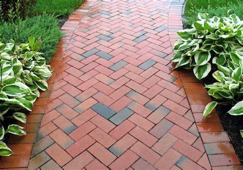 red brick garden path ideas image acacia gardens