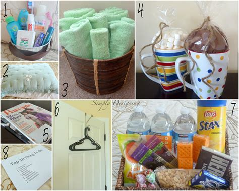 room gifts make your guest room feel like a hotel suite