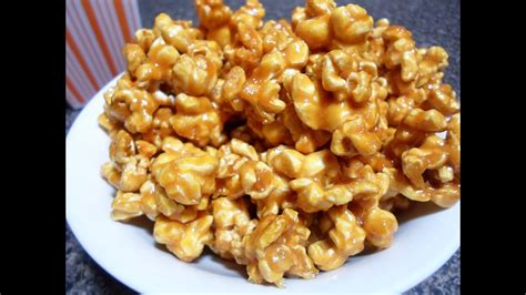 caramel popcorn easy cooking youtube