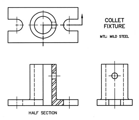 technical drawing section me210 engineering design graphics