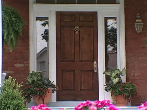 Refinishing Wood Doors Interior Refinish Exterior Door How To Refinish An Entry Door