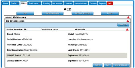Aed Management Programs And Aed Services Aed Program Template